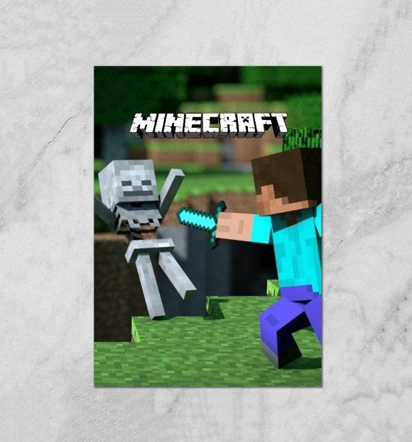 Minecraft плакат 006