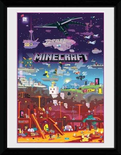 Minecraft плакат 007