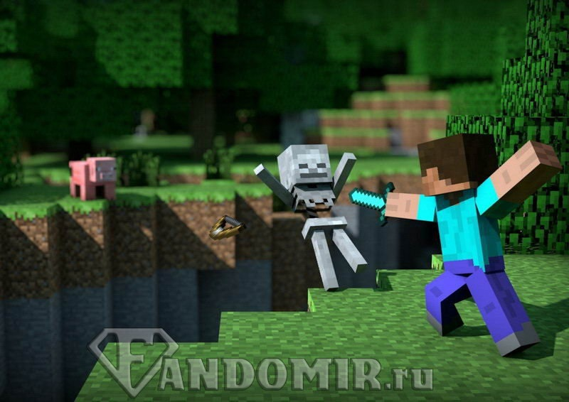 Minecraft плакат 008