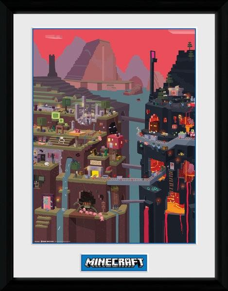 Minecraft плакат 009