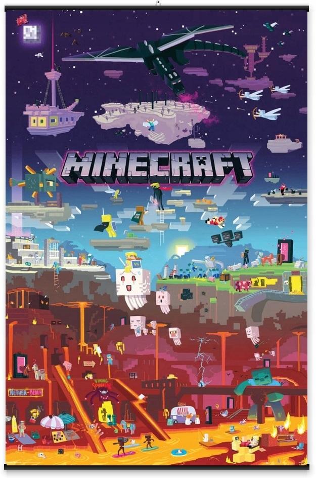 Minecraft плакат 011