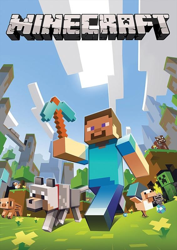 Minecraft плакат 012