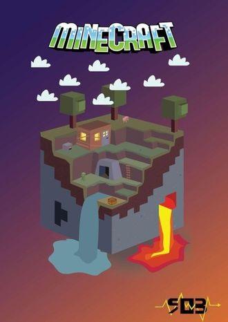 Minecraft плакат 015