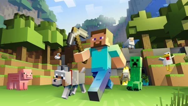 Minecraft плакат 017