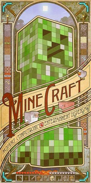 Minecraft плакат 018