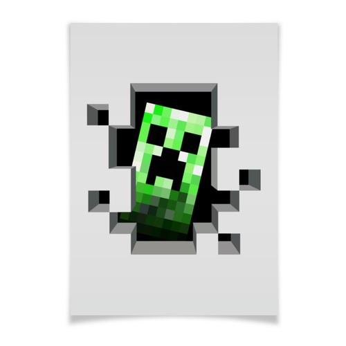 Minecraft плакат 019