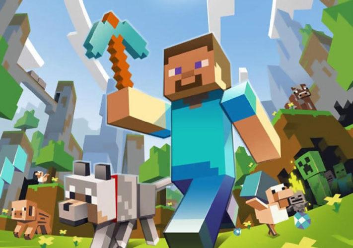 Minecraft плакат 020