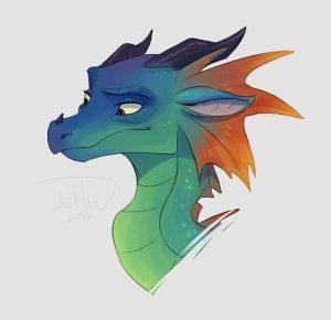 Картинки для срисовки драконов 027