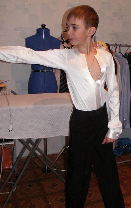 Красивые рубашки латина 014