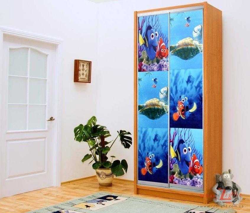 Рыбка картинка на шкафчик 013