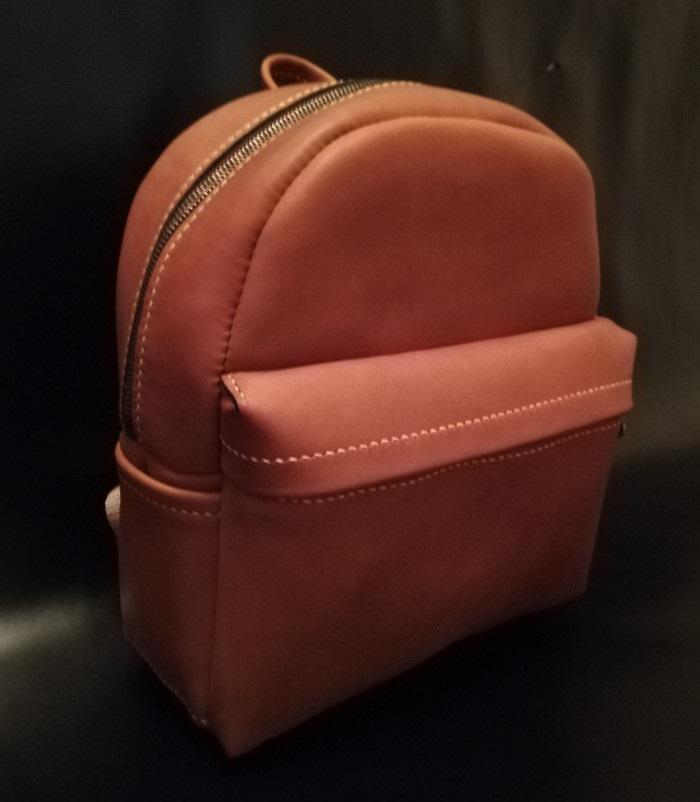 Рюкзак выкройка из кожи 002