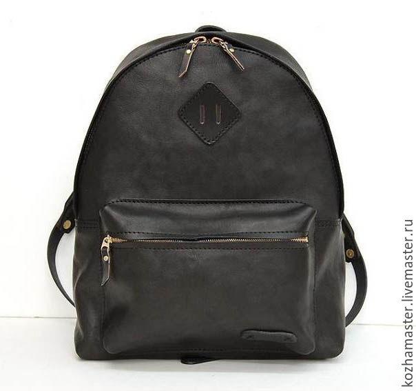 Рюкзак выкройка из кожи 003