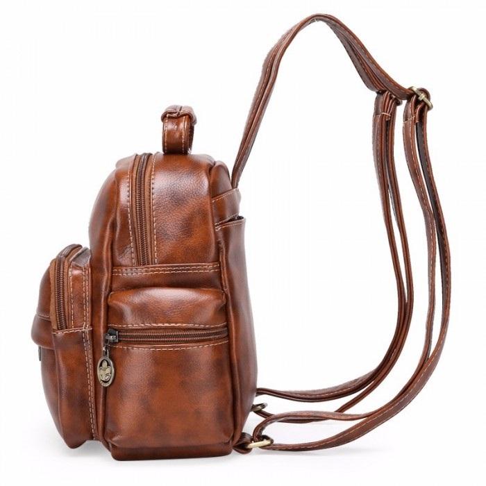 Рюкзак выкройка из кожи 004