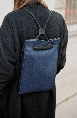 Рюкзак выкройка из кожи 008