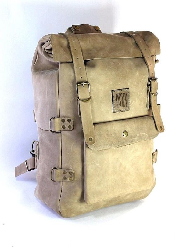 Рюкзак выкройка из кожи 014