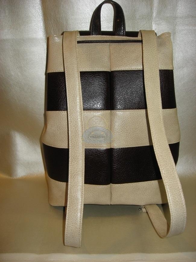 Рюкзак выкройка из кожи 015
