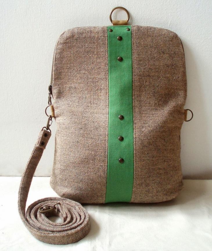 Рюкзак выкройка из кожи 020