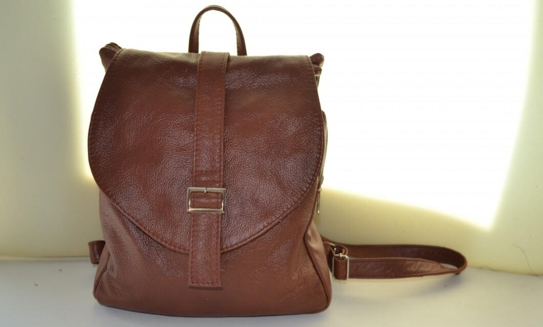 Рюкзак выкройка из кожи 023