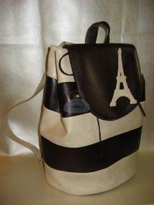 Рюкзак выкройка из кожи 027