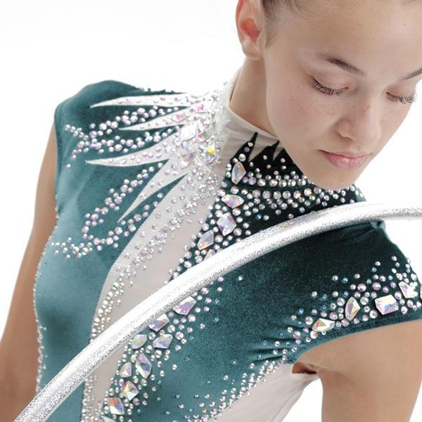 Самые красивые купальники для художественной гимнастики 013