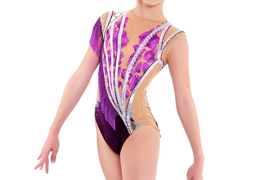 Самые красивые купальники для художественной гимнастики 015