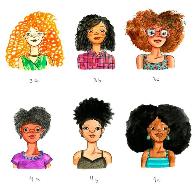 Арт картинки кудрявые девочки 009