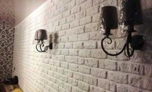 Интересные идеи декора из плиточного клея 020