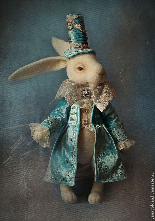 Картинки белого кролика из Алиса в стране чудес 004