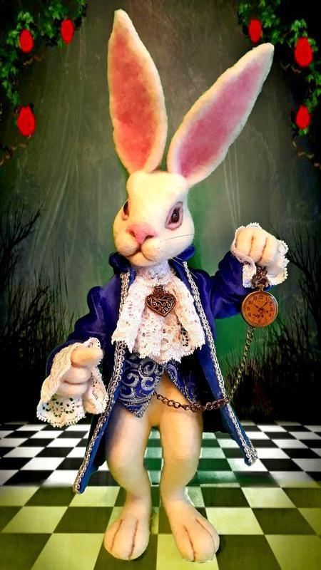 Картинки белого кролика из Алиса в стране чудес 005