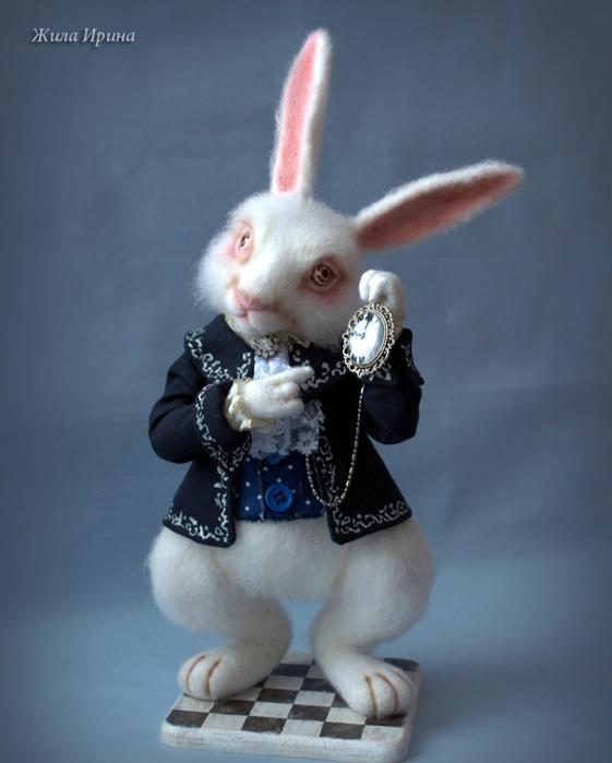 Картинки белого кролика из Алиса в стране чудес 010