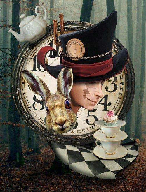 Картинки белого кролика из Алиса в стране чудес 011