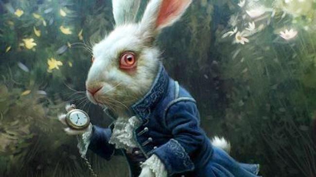 Картинки белого кролика из Алиса в стране чудес 013