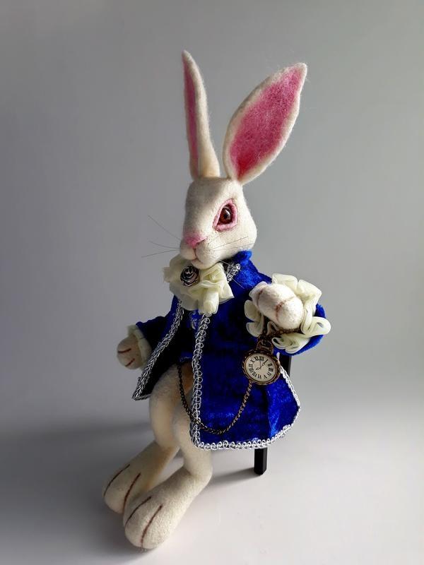 Картинки белого кролика из Алиса в стране чудес 014