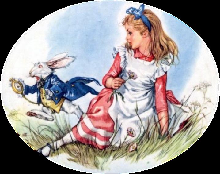 Картинки белого кролика из Алиса в стране чудес 020