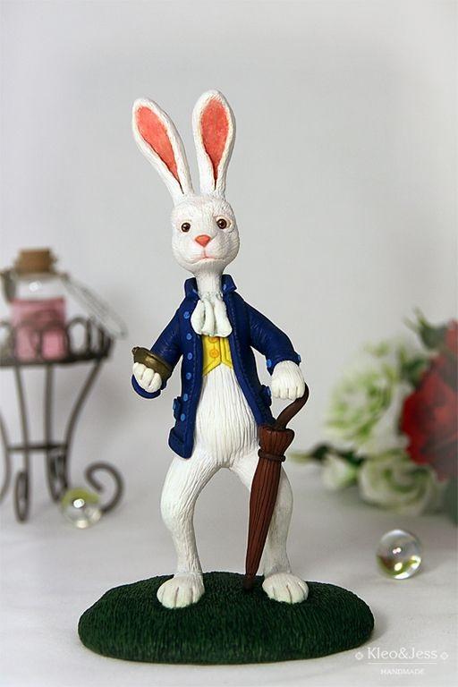 Картинки белого кролика из Алиса в стране чудес 021