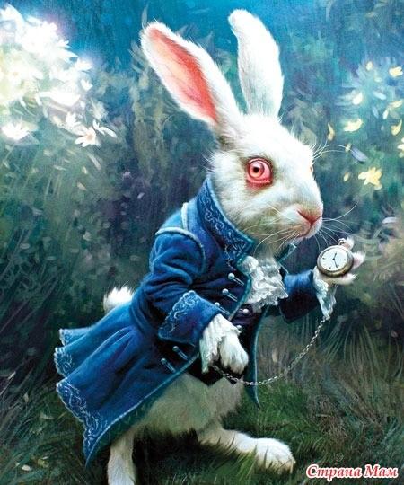Картинки белого кролика из Алиса в стране чудес 022