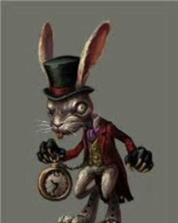 Картинки белого кролика из Алиса в стране чудес 025