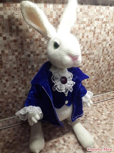 Картинки белого кролика из Алиса в стране чудес 027
