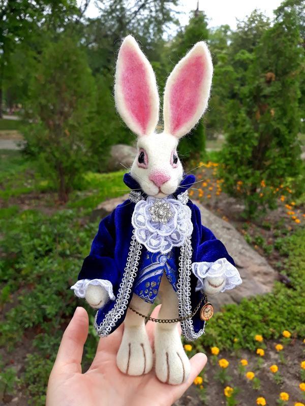 Картинки белого кролика из Алиса в стране чудес 028