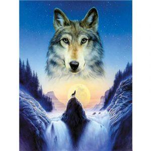 Картинки волка маслом для детей 016