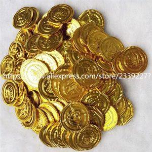 Картинки пиратские монеты на день рождение 028