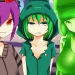 Красивые картинки аниме девушек Майнкрафт