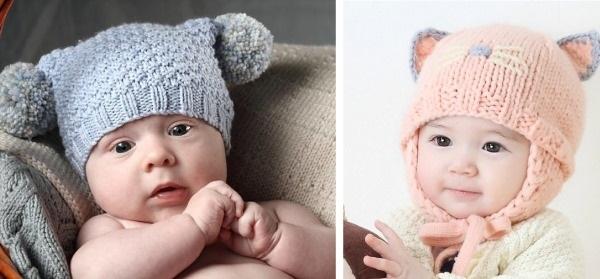 Красивые схемы детской шапки 001