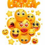Красивые эмоджи поздравления с днем рождения