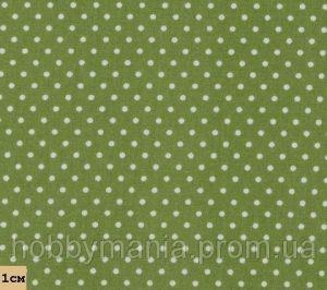 Красивый зеленый фон в горошек на телефон 011