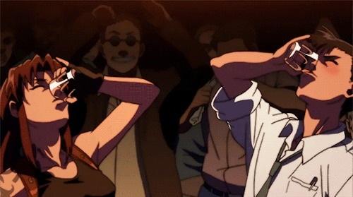 Красивы картинки аниме Черная лагуна 017