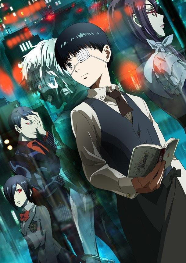 Крутые арты из аниме Токийский гуль 008