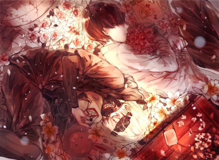 Крутые арты из аниме Токийский гуль 019