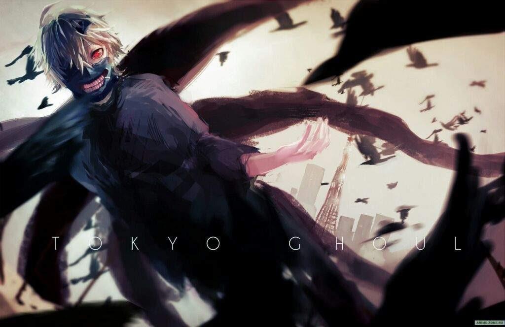 Крутые арты из аниме Токийский гуль 021
