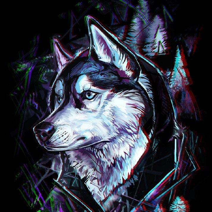 Крутые арты стая волков 002